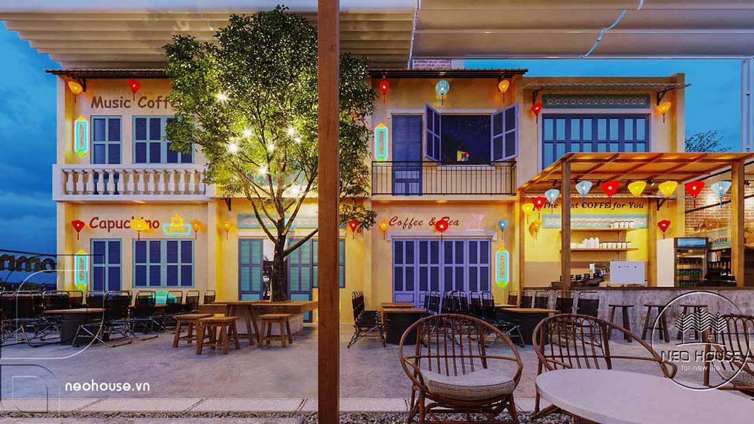 Thiết kế và thi công quán cafe sân vườn trọn gói tại Bình Phước. Ảnh 3
