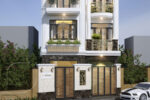Mẫu Nhà Phố Tân Cổ Điển 4 Tầng 7x10m Đẳng Cấp Tại Hồ Chí Minh – NP50