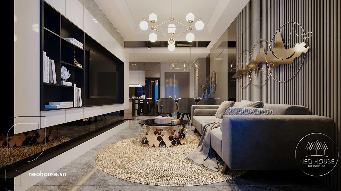 Thiết kế căn hộ 2 phòng ngủ Topaz Elite. Ảnh 2