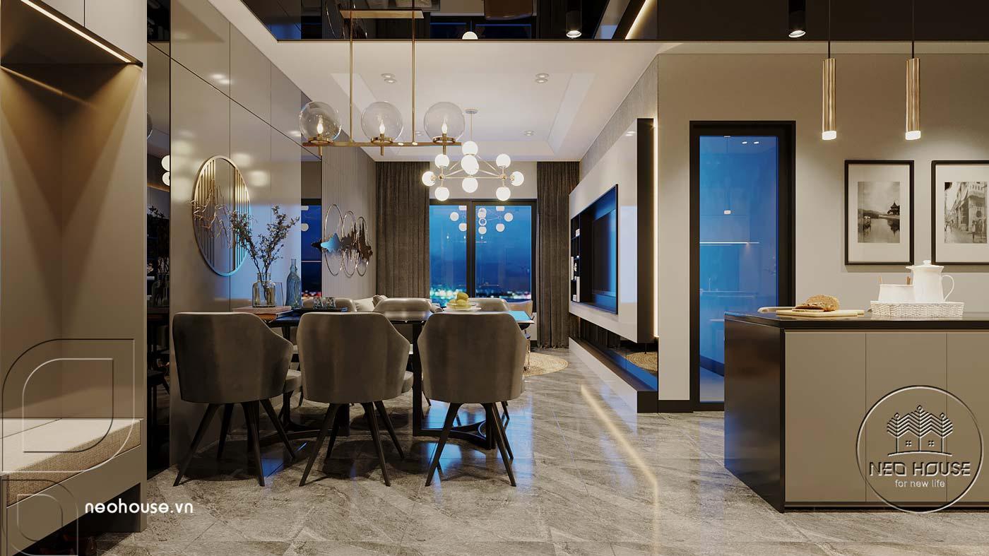 Thiết kế căn hộ 2 phòng ngủ Topaz Elite. Ảnh 3