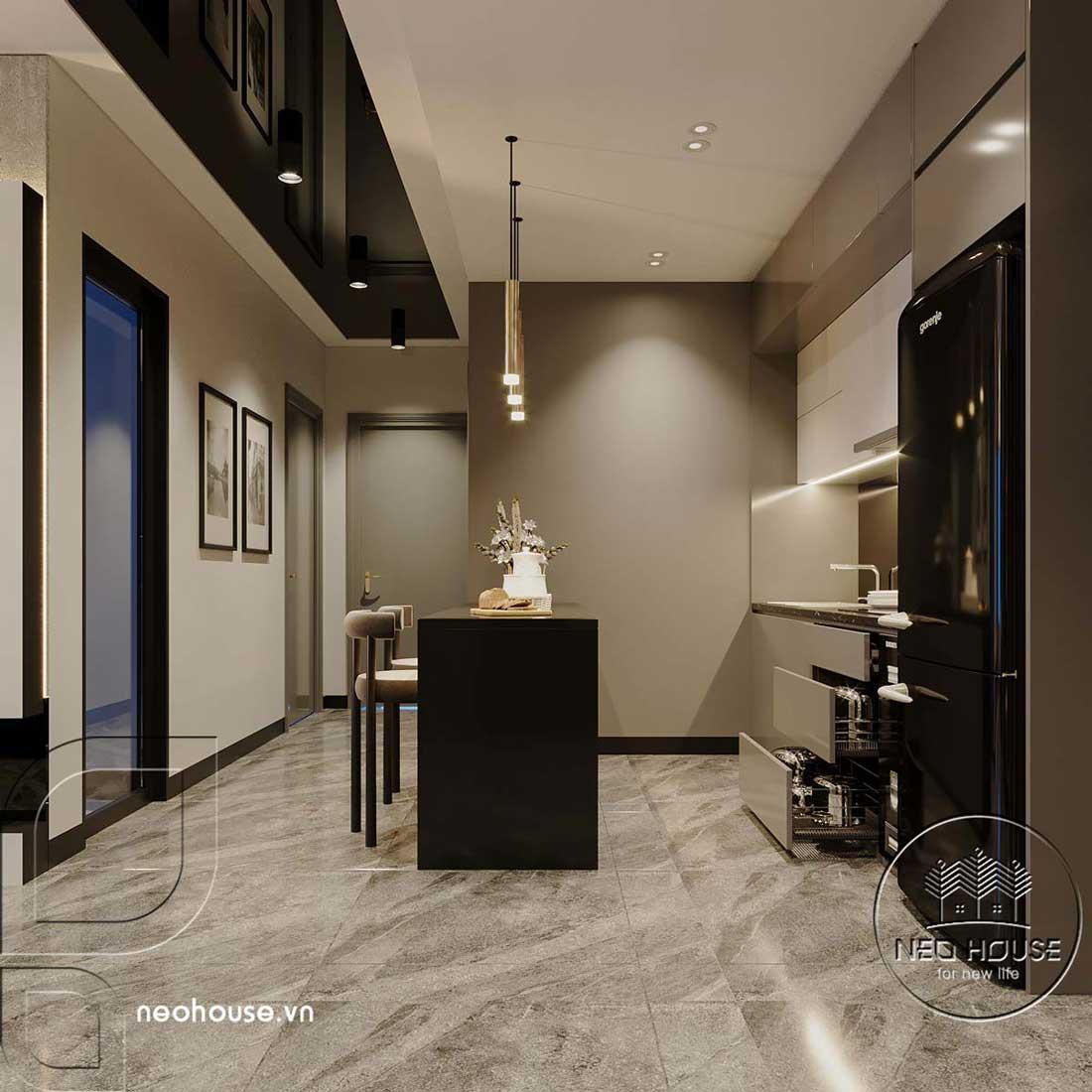 Thiết kế căn hộ 2 phòng ngủ Topaz Elite. Ảnh 5