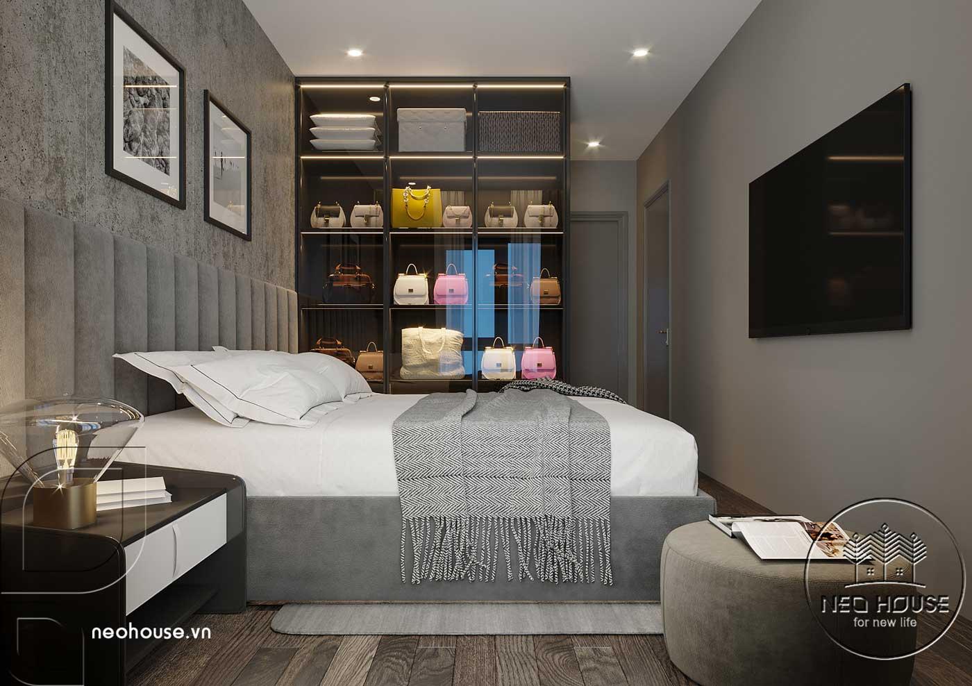 Thiết kế căn hộ 2 phòng ngủ Topaz Elite. Ảnh 7