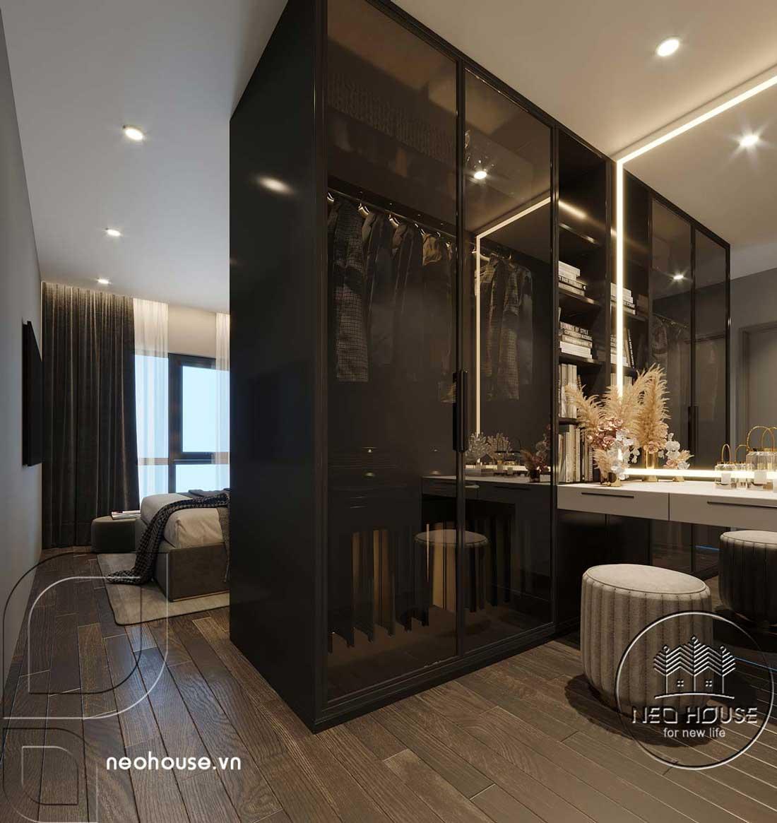 Thiết kế căn hộ 2 phòng ngủ Topaz Elite. Ảnh 9