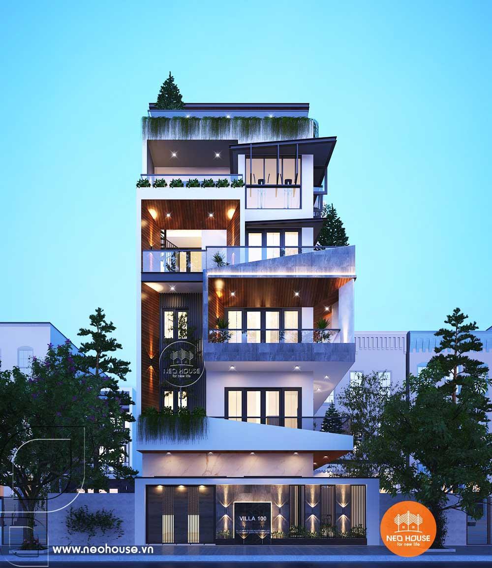 Mẫu thiết kế nhà phố chiều rộng 7m. Ảnh 2