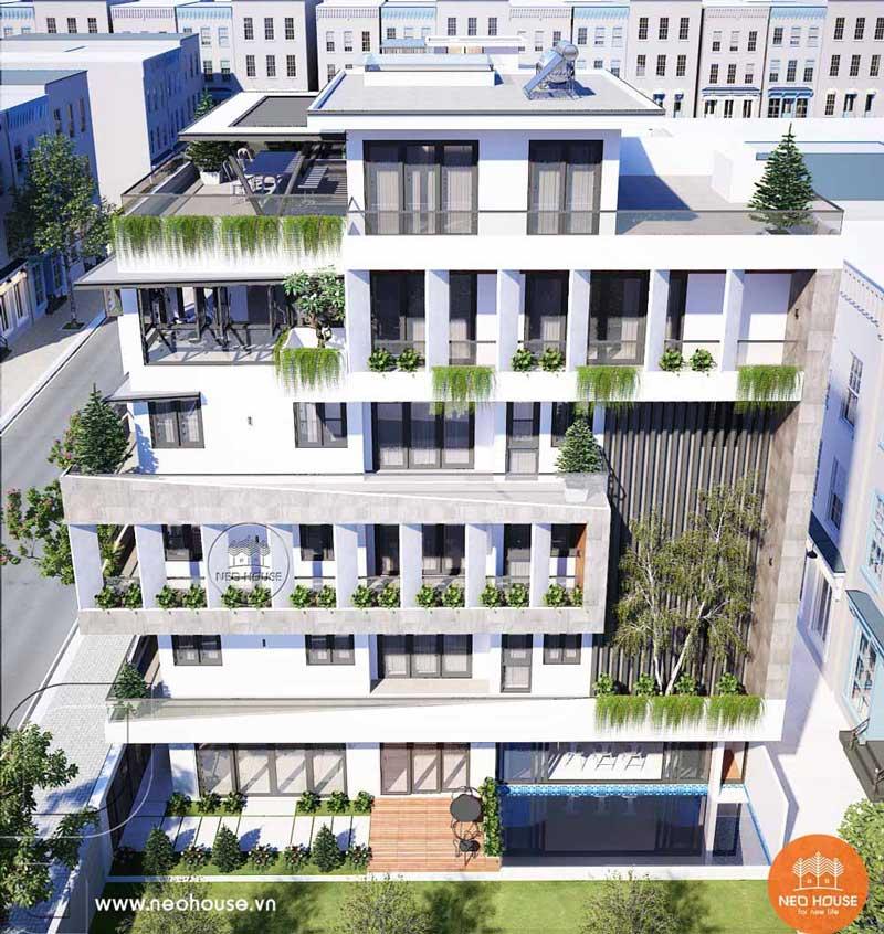 Mẫu thiết kế nhà phố chiều rộng 7m. Ảnh 3
