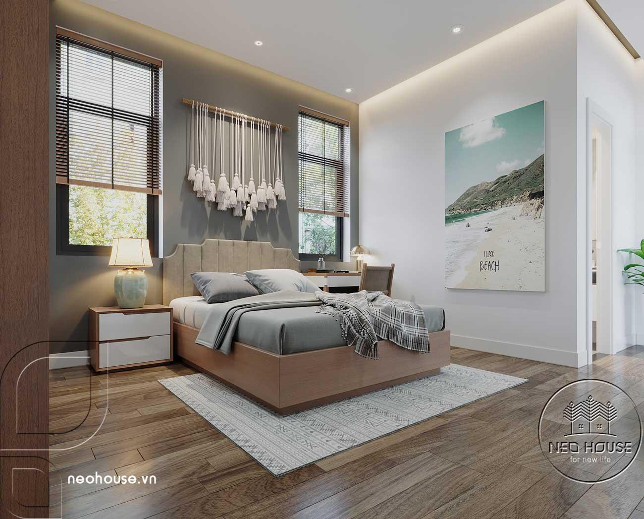 Thiết kế nội thất biệt thự cao cấp 2 tầng. Ảnh 17