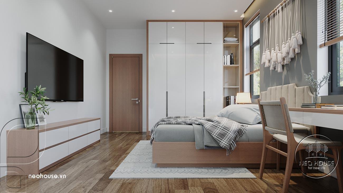Thiết kế nội thất biệt thự cao cấp 2 tầng. Ảnh 18