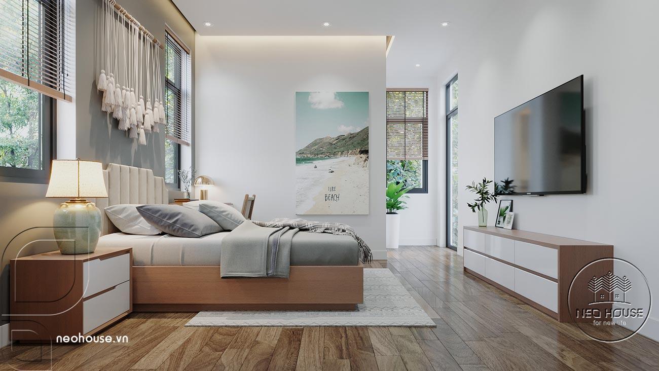 Thiết kế nội thất biệt thự cao cấp 2 tầng. Ảnh 19