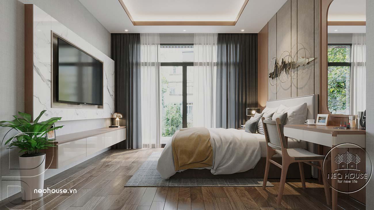 Thiết kế nội thất biệt thự cao cấp 2 tầng. Ảnh 22