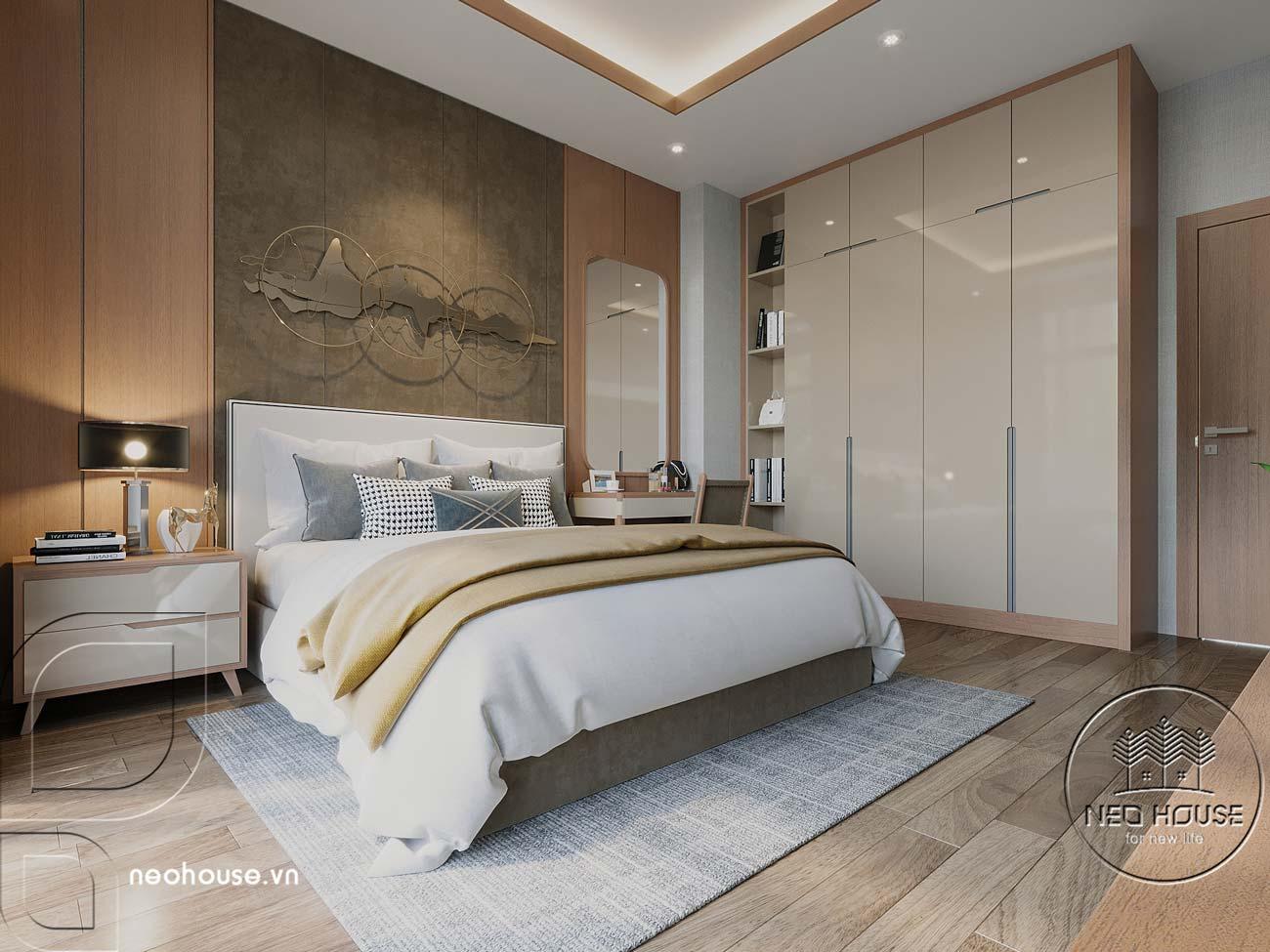 Thiết kế nội thất biệt thự cao cấp 2 tầng. Ảnh 24
