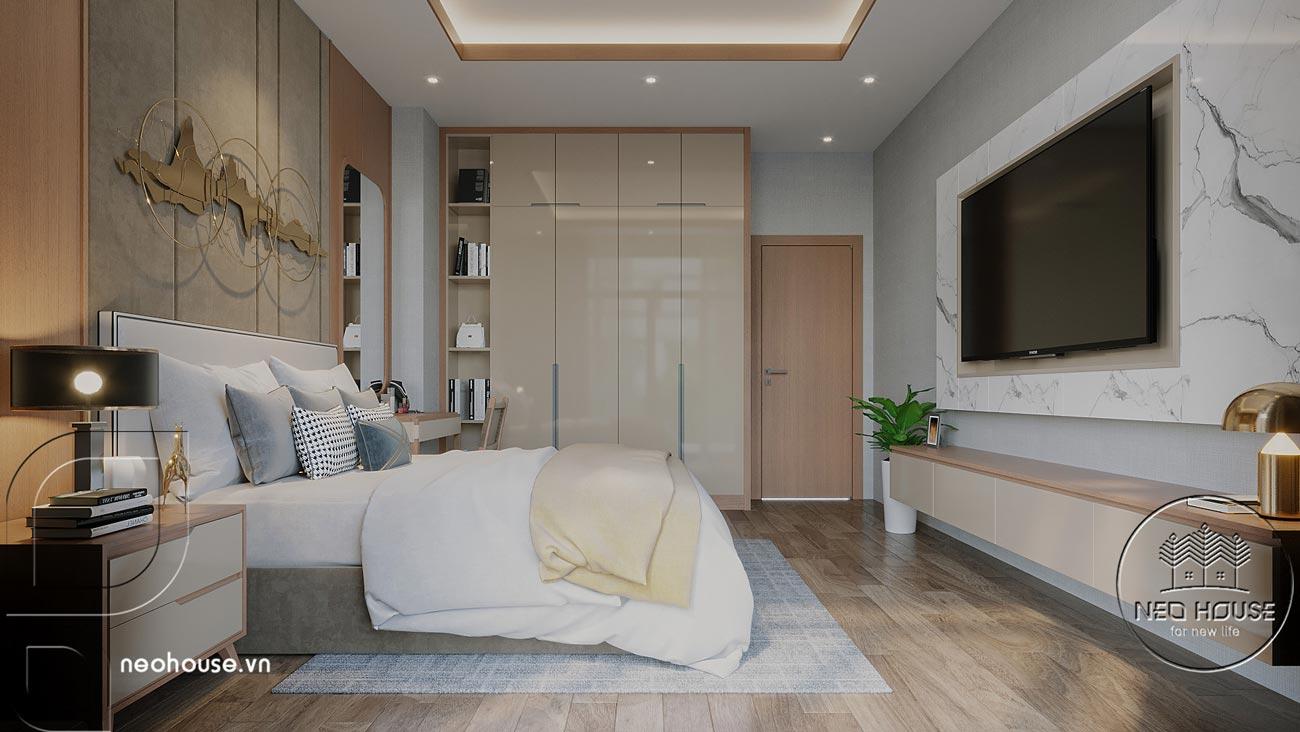 Thiết kế nội thất biệt thự cao cấp 2 tầng. Ảnh 25