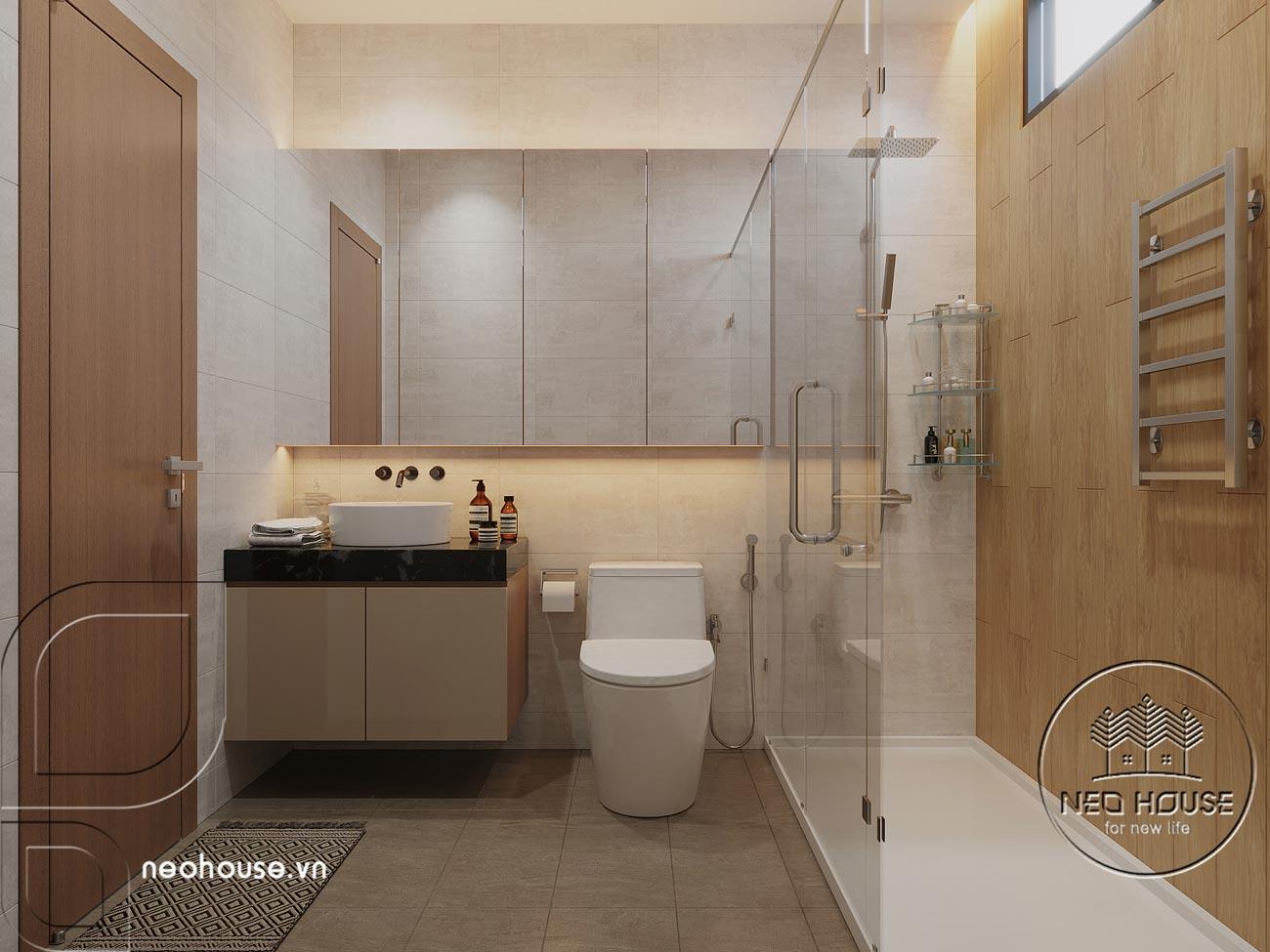 Thiết kế nội thất biệt thự cao cấp 2 tầng. Ảnh 27