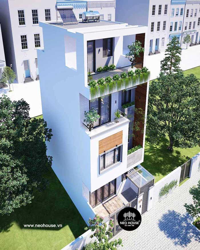 Nhà phố 4 tầng hiện đại. Ảnh 4