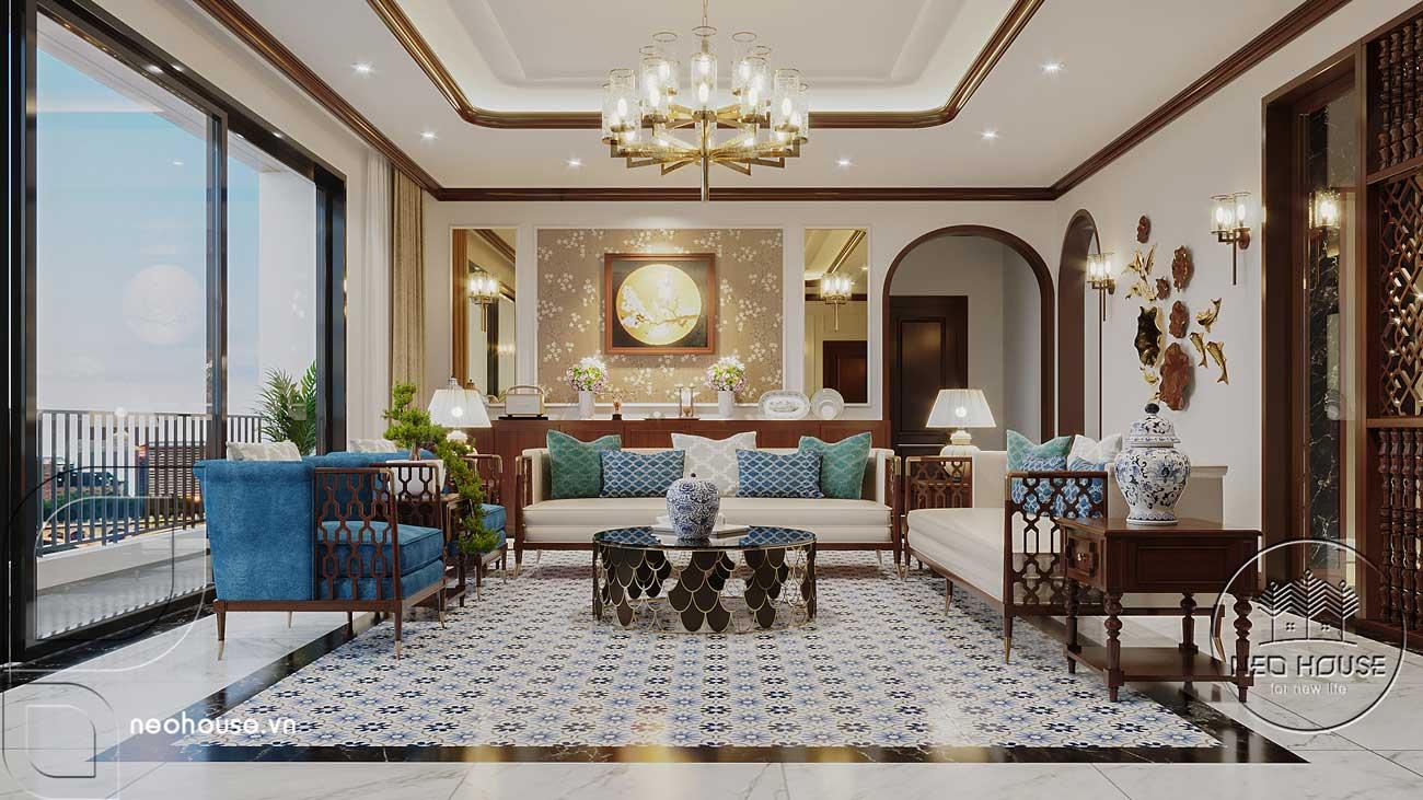 Thiết kế nội thất phong cách Indochine. Ảnh 1