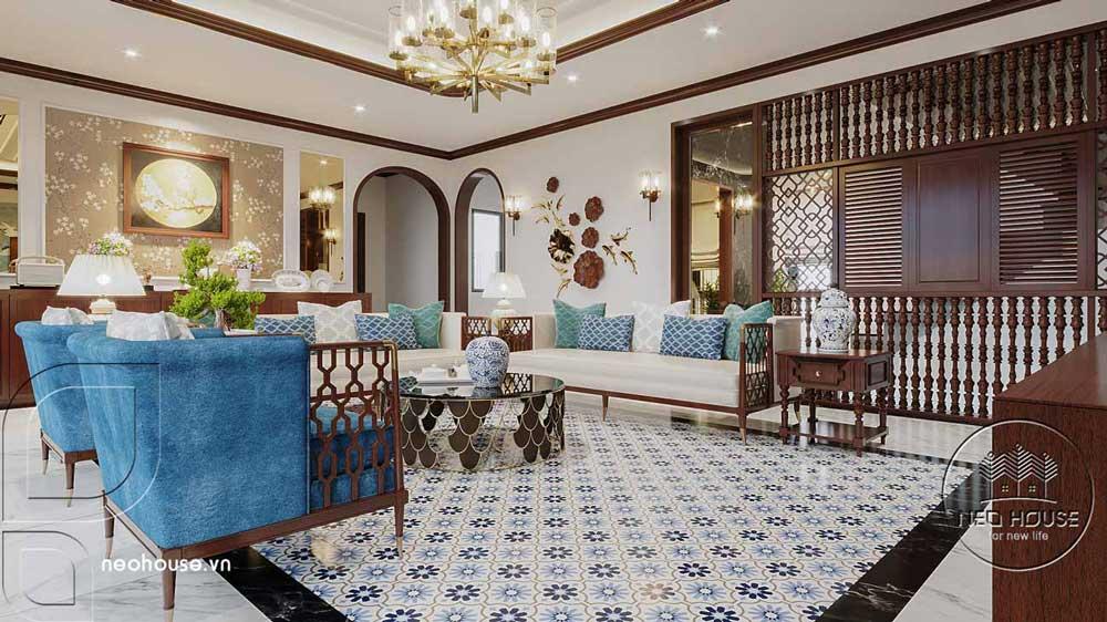 Thiết kế nội thất phong cách Indochine. Ảnh 2