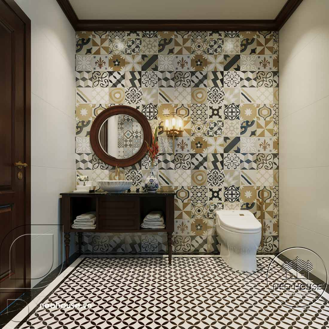 Thiết kế nội thất phong cách Indochine. Ảnh 20