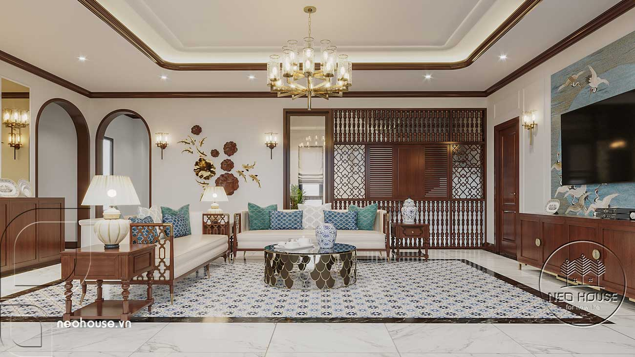 Thiết kế nội thất phong cách Indochine. Ảnh 3