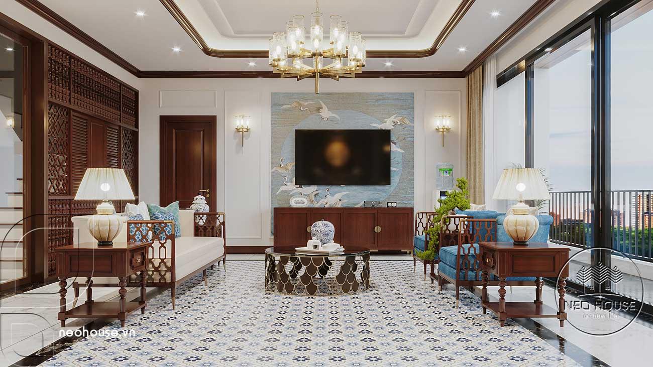 Thiết kế nội thất phong cách Indochine. Ảnh 4