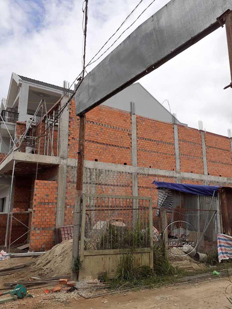 Thi công nhà phố trọn gói với công đoạn hoàn thiện phần thô. Ảnh 3