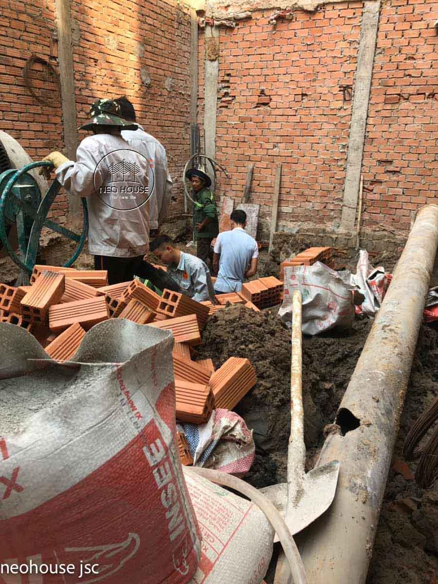 Thi công xây dựng nhà phố tân cổ điển 4 tầng. Ảnh 4
