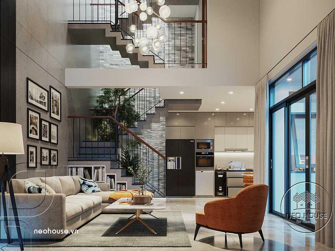 Thiết kế căn hộ Penthouse. Ảnh 1