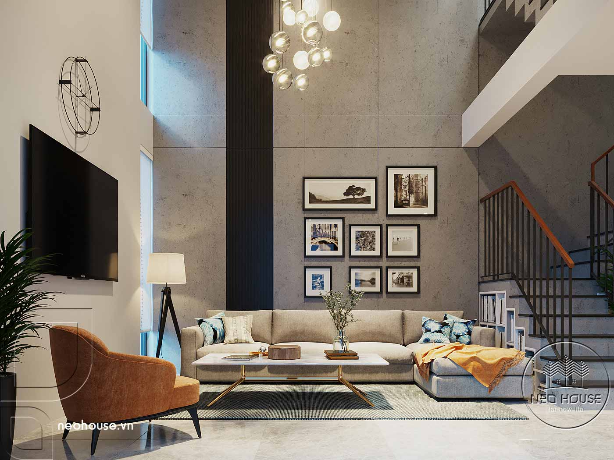 Thiết kế căn hộ Penthouse. Ảnh 2