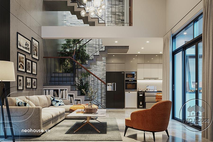 Thiết kế căn hộ penthouse. Ảnh bìa