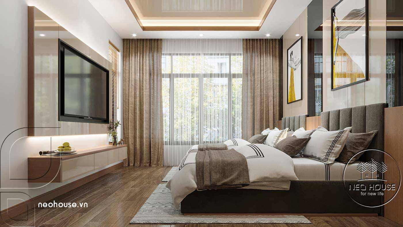 Thiết kế nội thất biệt thự cao cấp 2 tầng. Ảnh 10