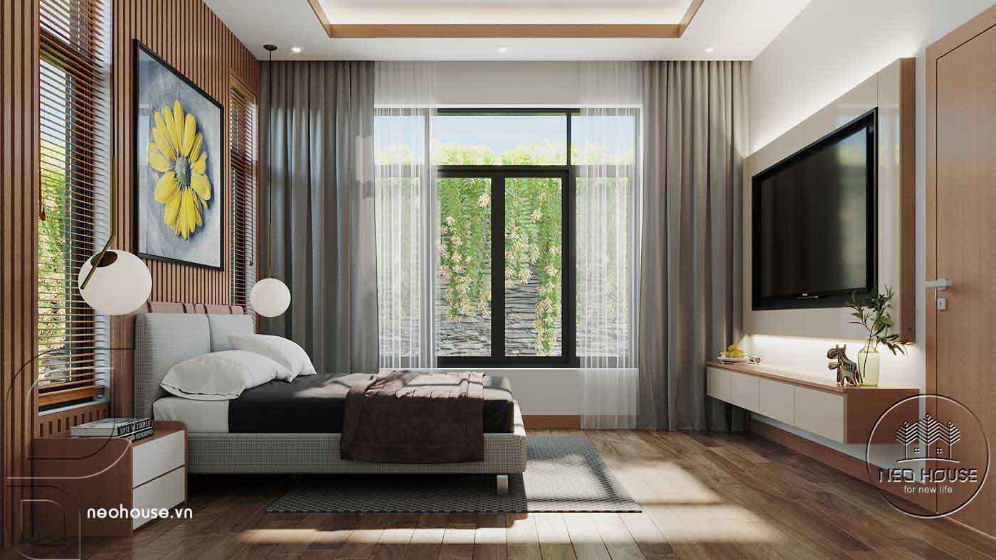 Thiết kế nội thất biệt thự cao cấp 2 tầng. Ảnh 16