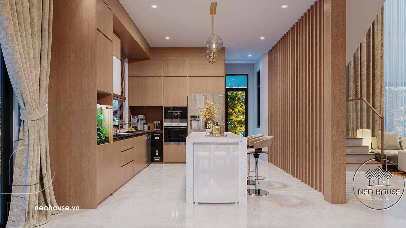 Thiết kế nội thất biệt thự cao cấp 2 tầng. Ảnh 5