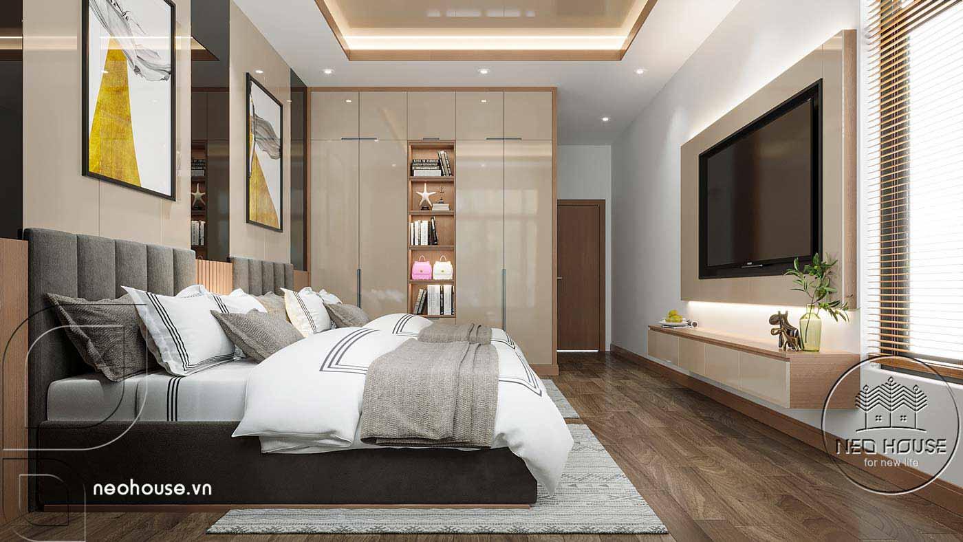 Thiết kế nội thất biệt thự cao cấp 2 tầng. Ảnh 9