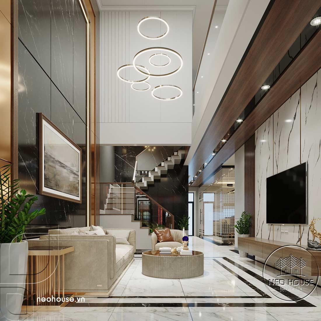 Thiết kế nội thất nhà phố kết hợp kinh doanh văn phòng. Ảnh 4