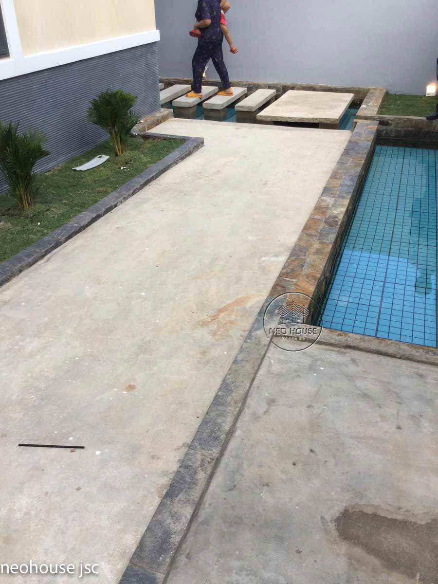 Thi công hoàn thiện nhà đẹp 2 tầng 130m2 tại Bình Phước. Ảnh 7