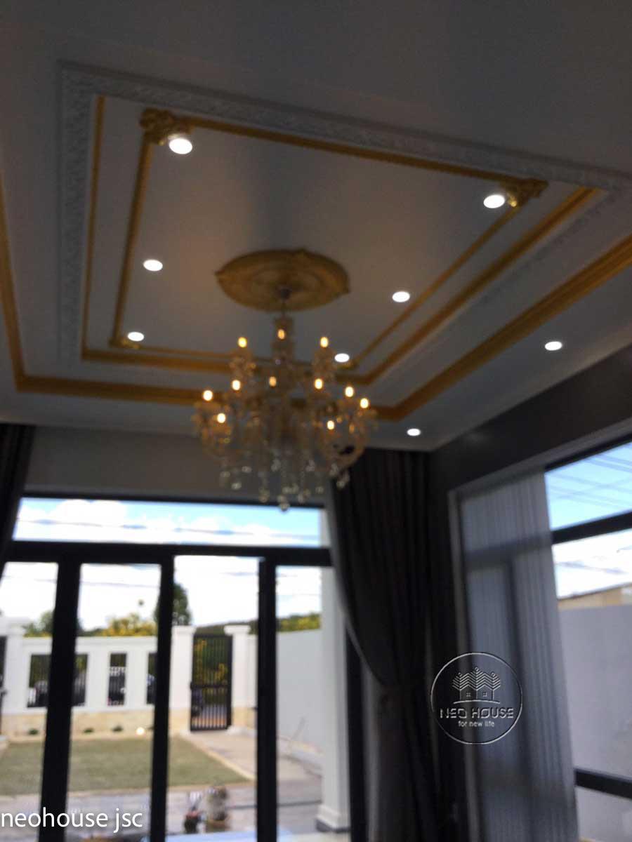 Thi công hoàn thiện nội thất nhà đẹp 2 tầng 130m2 tại Bình Phước. Ảnh 2