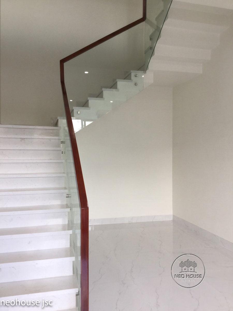 Thi công hoàn thiện nội thất nhà đẹp 2 tầng 130m2 tại Bình Phước. Ảnh 3
