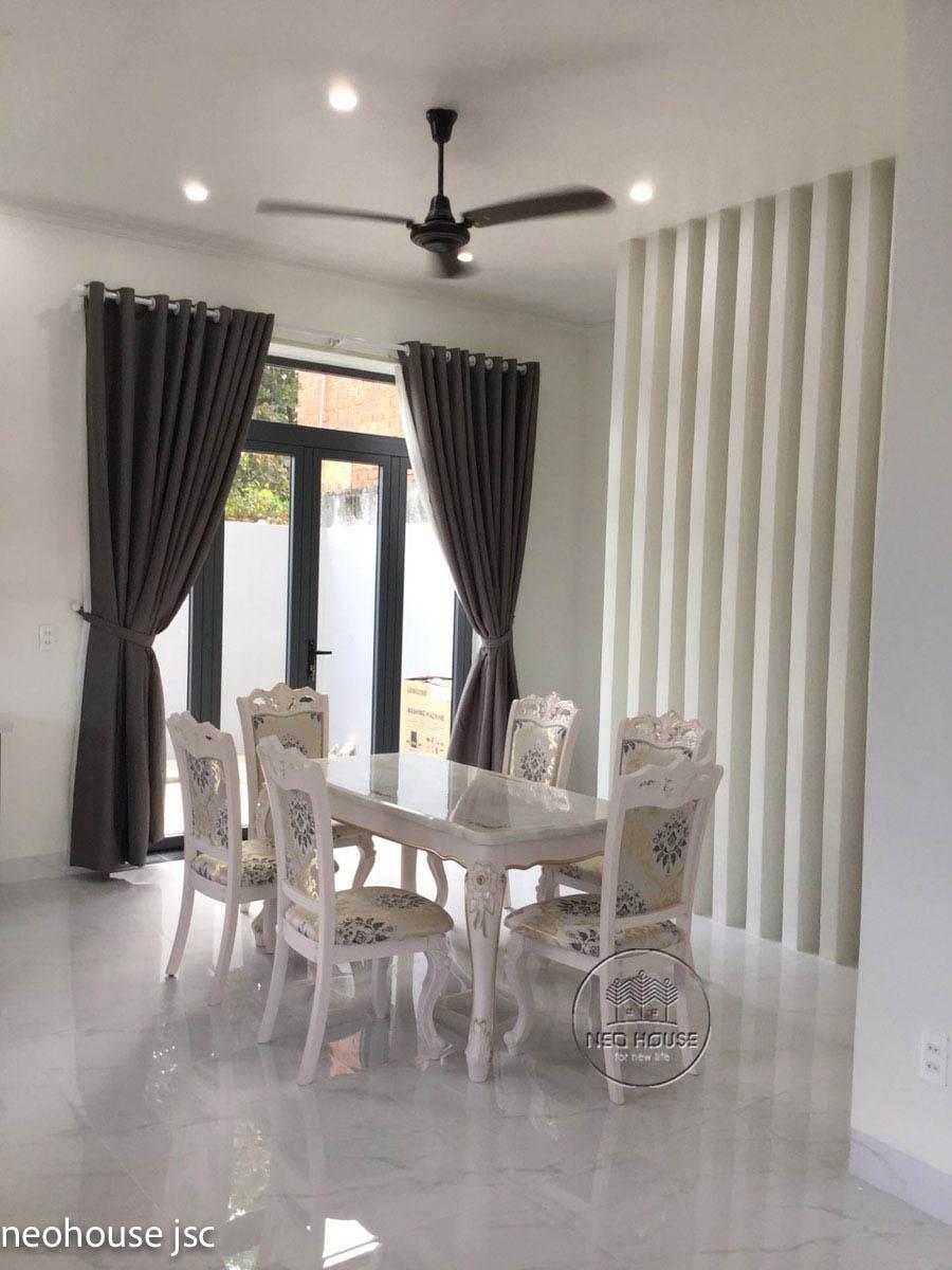 Thi công hoàn thiện nội thất nhà đẹp 2 tầng 130m2 tại Bình Phước. Ảnh 4