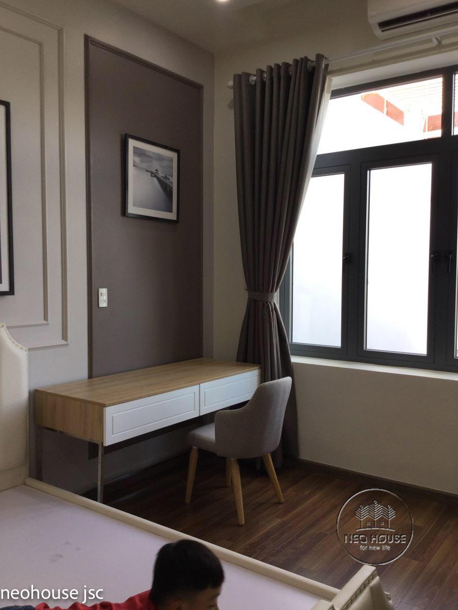 Thi công hoàn thiện nội thất nhà đẹp 2 tầng 130m2 tại Bình Phước. Ảnh 9