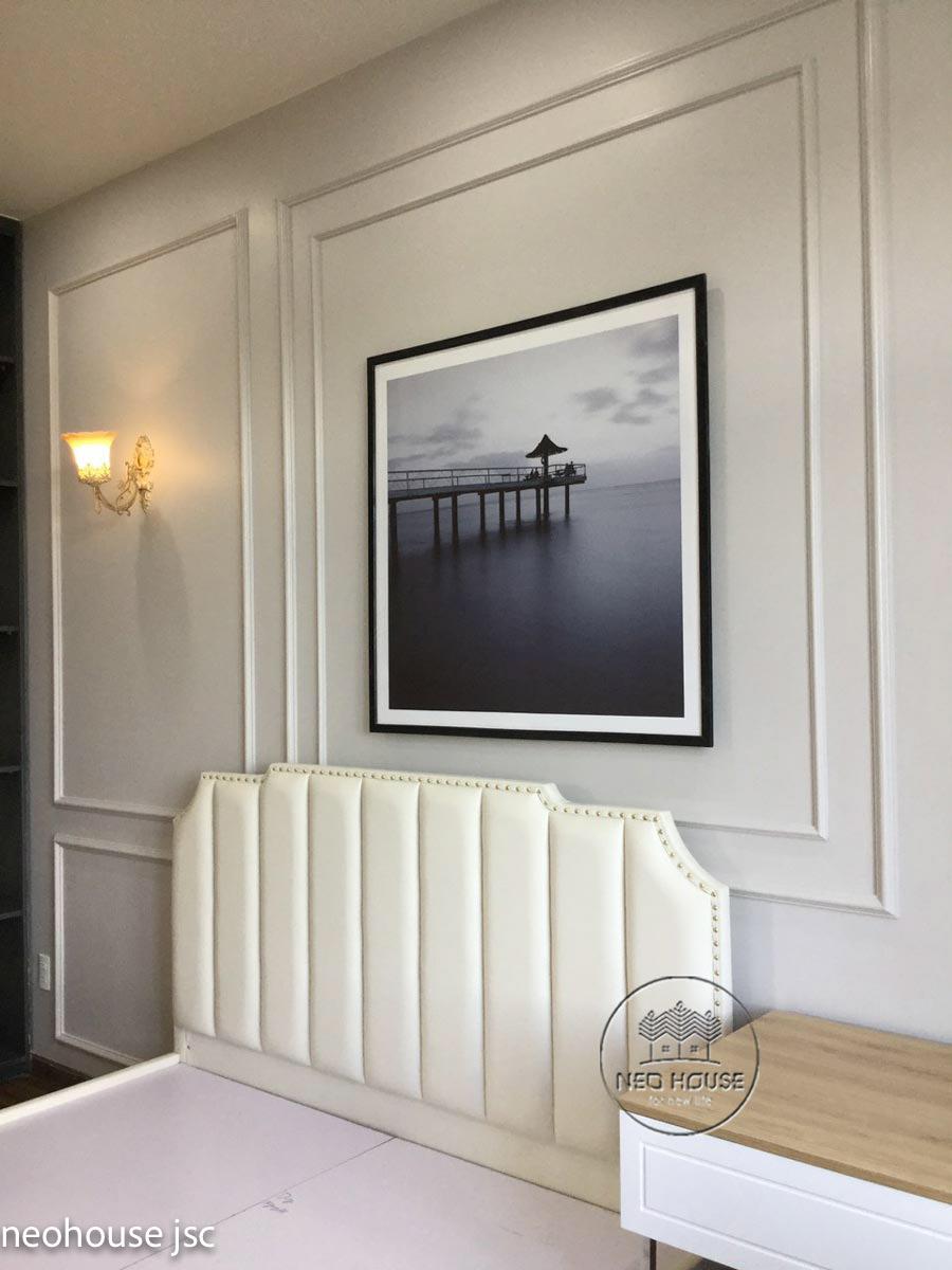Thi công hoàn thiện nội thất nhà đẹp 2 tầng 130m2 tại Bình Phước. Ảnh 11