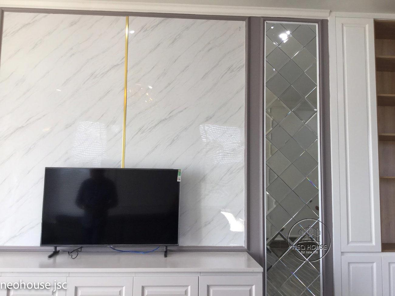 Thi công hoàn thiện nội thất nhà đẹp 2 tầng 130m2 tại Bình Phước. Ảnh 12