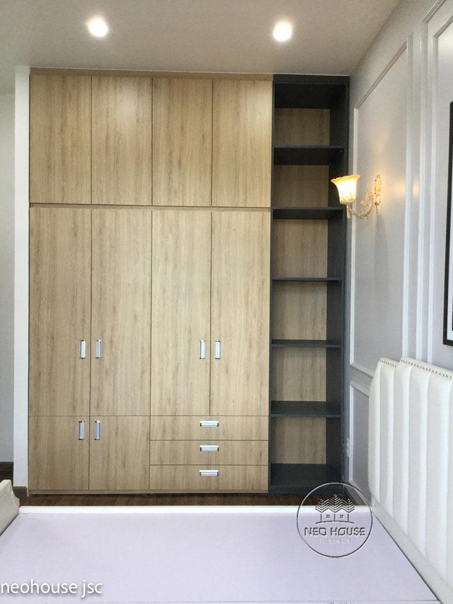 Thi công hoàn thiện nội thất nhà đẹp 2 tầng 130m2 tại Bình Phước. Ảnh 13
