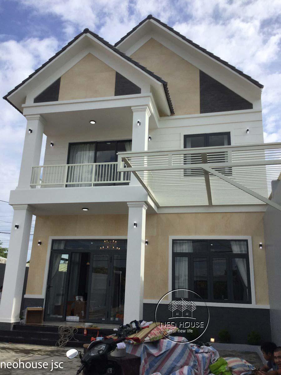 Thi công hoàn thiện nhà đẹp 2 tầng 130m2 tại Bình Phước. Ảnh 2