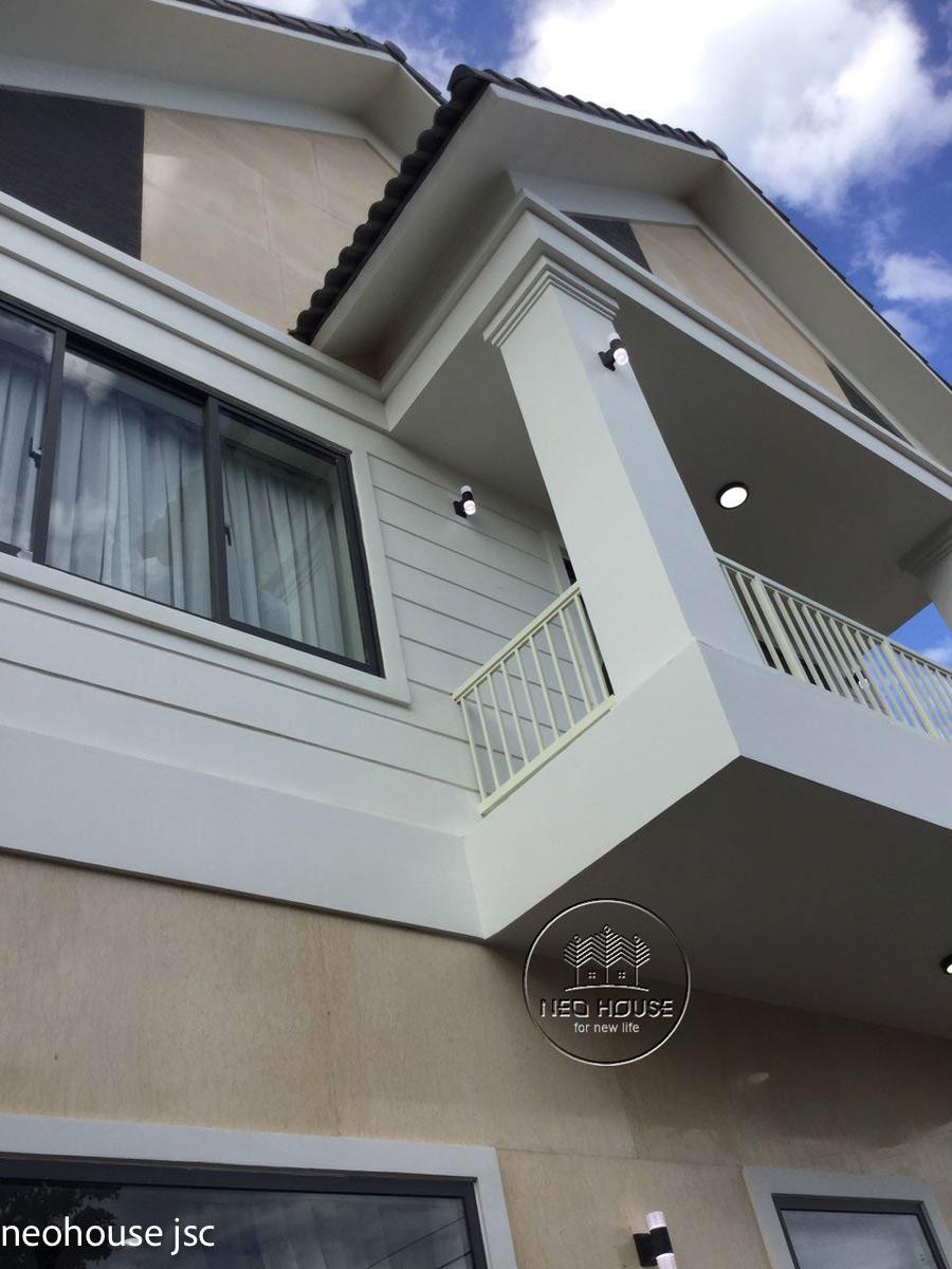 Thi công hoàn thiện nhà đẹp 2 tầng 130m2 tại Bình Phước. Ảnh 3
