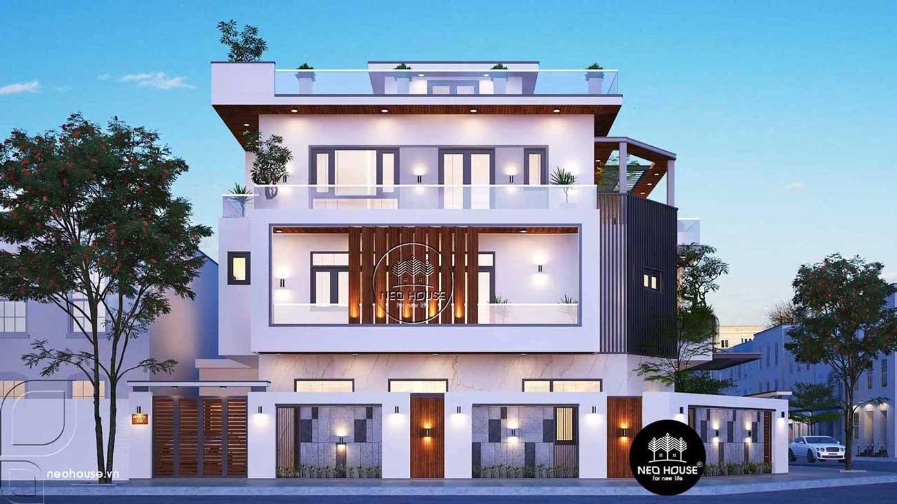 Thiết kế và thi công trọn gói biệt thự 3 tầng. Ảnh 3