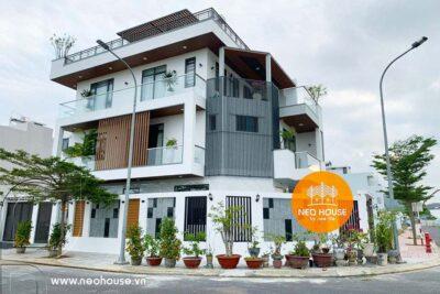 Thiết Kế Và Thi Công Trọn Gói Biệt Thự 3 Tầng 7x14m Tại Nha Trang – TC03