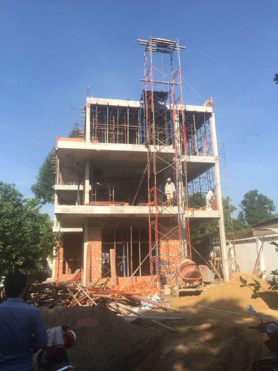 Thiết kế xây dựng biệt thự 3 tầng 5 phòng ngủ. Ảnh 6