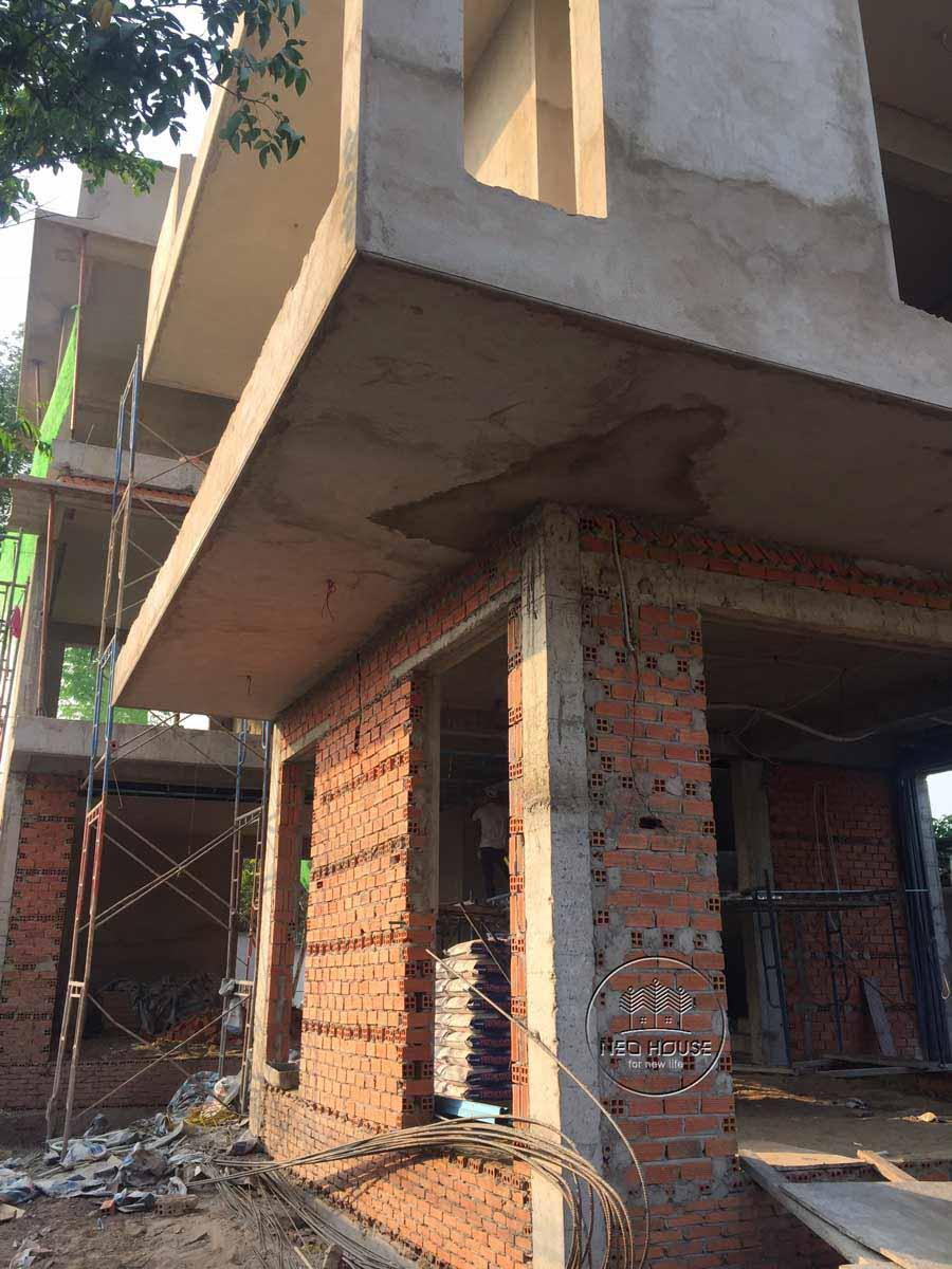 Thiết kế xây dựng biệt thự 3 tầng 5 phòng ngủ. Ảnh 7