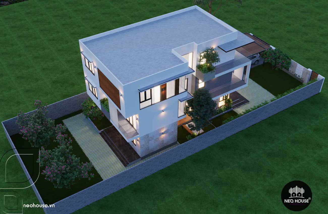 Thiết kế xây dựng biệt thự 3 tầng. Ảnh 4