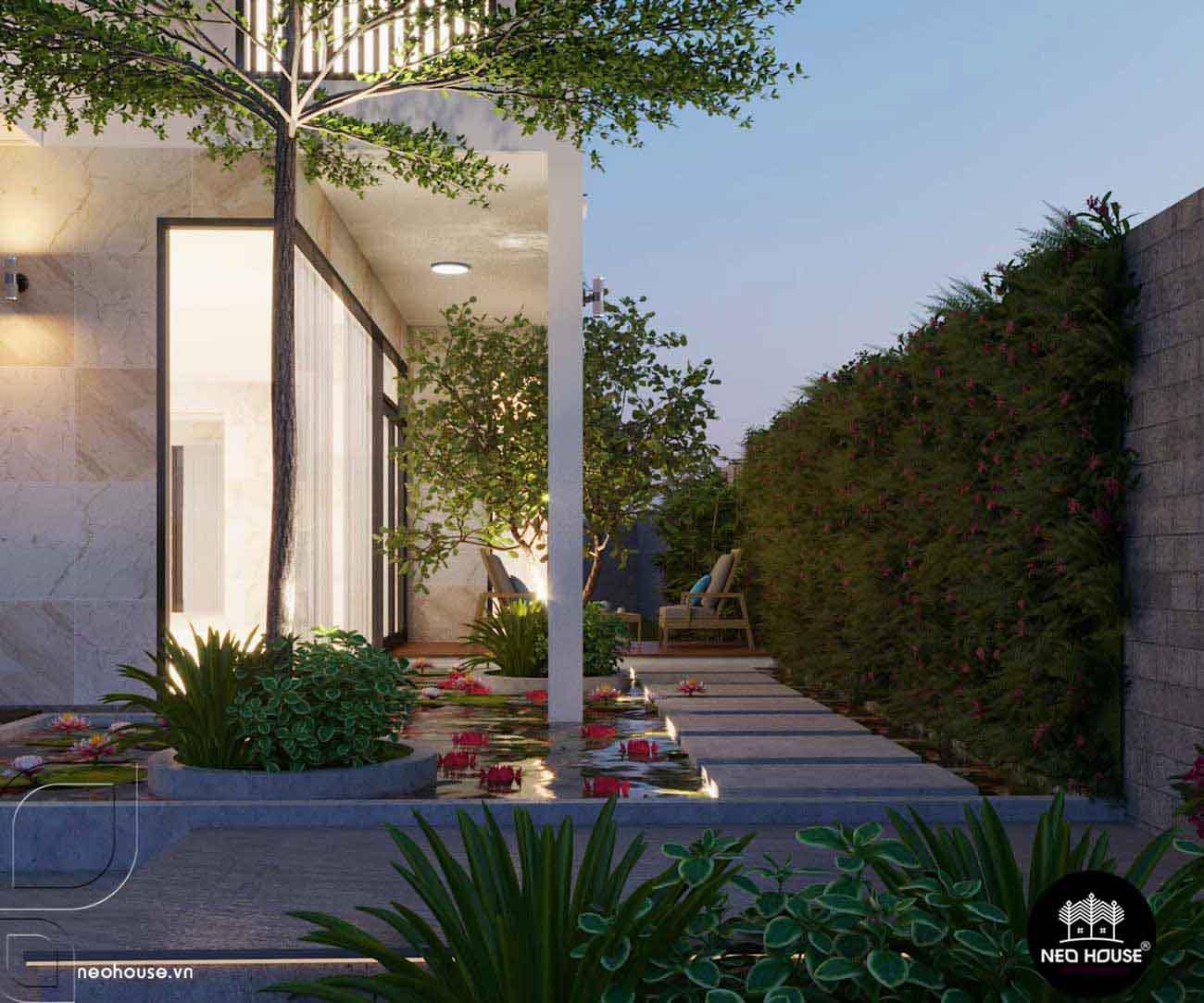Thiết kế xây dựng biệt thự 3 tầng. Ảnh 5