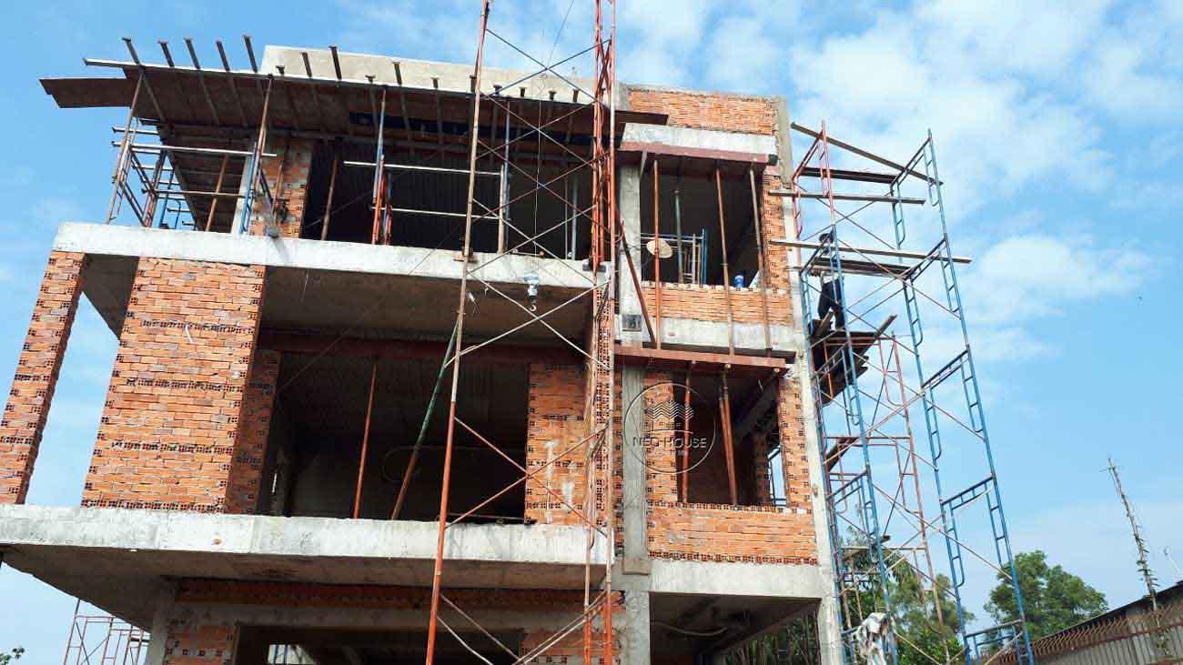 Thiết kế xây dựng biệt thự 3 tầng 5 phòng ngủ. Ảnh 3