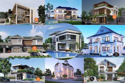 50 Mẫu Nhà 2 Tầng Đẹp Ở Nông Thôn Được Ưa Chuộng Nhất